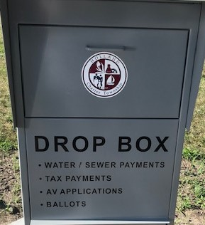 New Drive-Up Drop Box